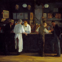 McSorley's Ale House by John Sloan