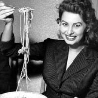 Celebrities Eating Spaghetti