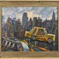 New York Taxi by Bokov